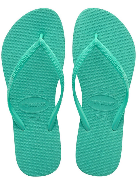 havaianas Slim - Sandales Femme - vert